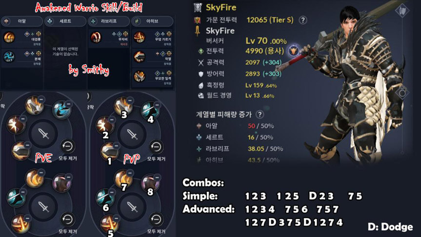 Skill build Awakening Sorceress