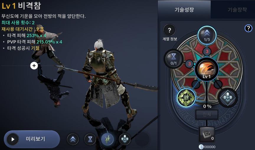Skill build Blader