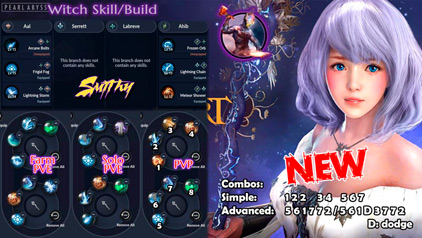WITCH ULTIMATE BUILDS Black Desert Mobile