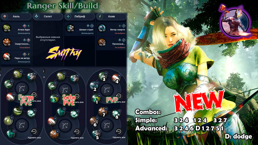 Skill build Ascension Ranger (Huntress)