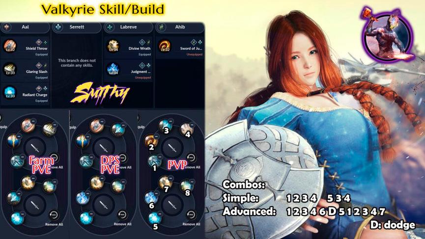 Skill build valkyrie