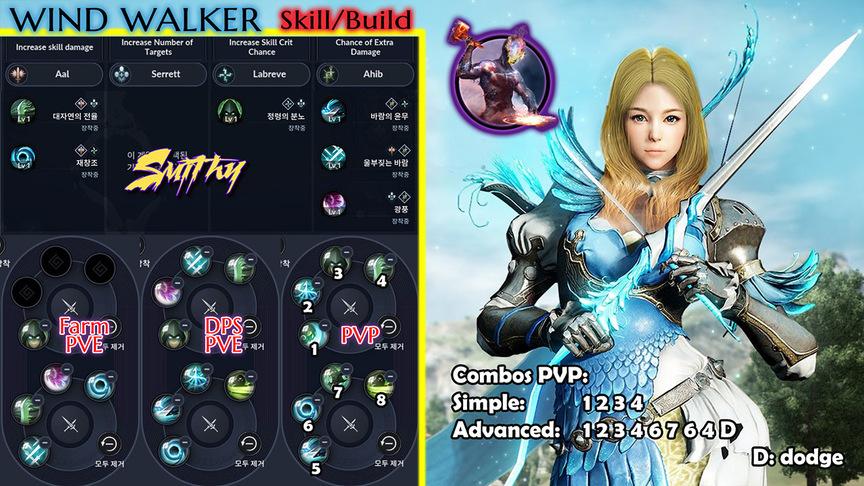 Skill build Awakening Ranger (Windwalker)