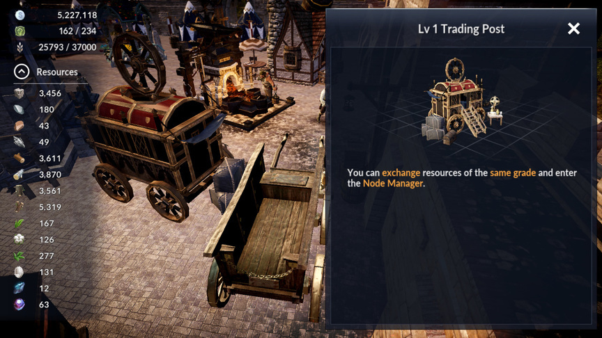 Trading Post Black Desert Mobile