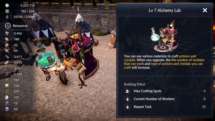 Alchemy Lab Black Desert Mobile