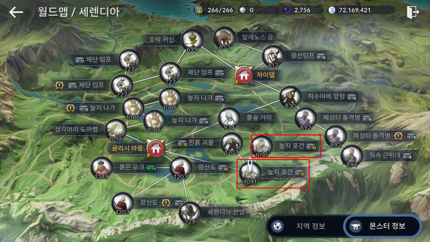 Character Development System in Black Desert Mobile