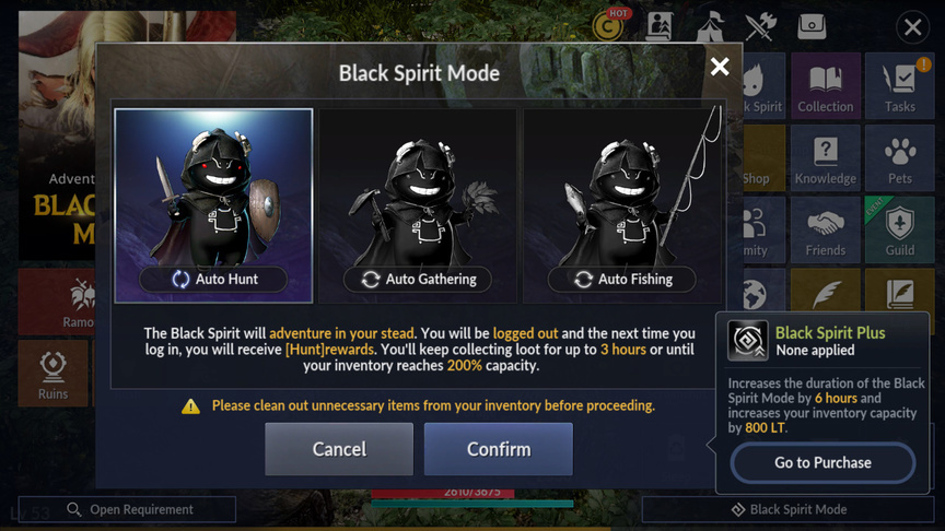 All about killing mobs in Black Desert Mobile