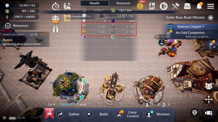 Preparing a family for a new class Sorceress Black Desert Mobile