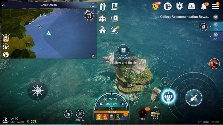Black Desert Mobile Knowledge The Sailors and the Sea 2