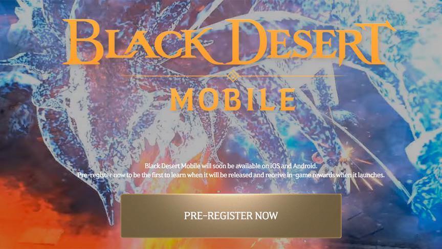 Pre-register Black Desert Mobile Global